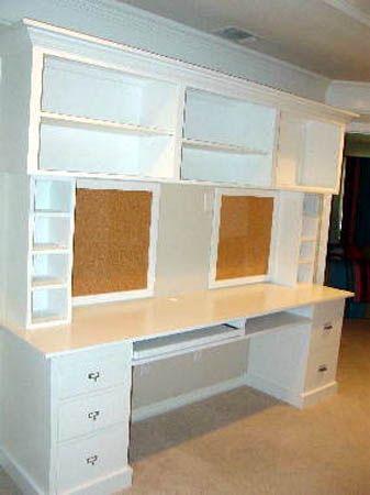 built in desk- craft room or office?