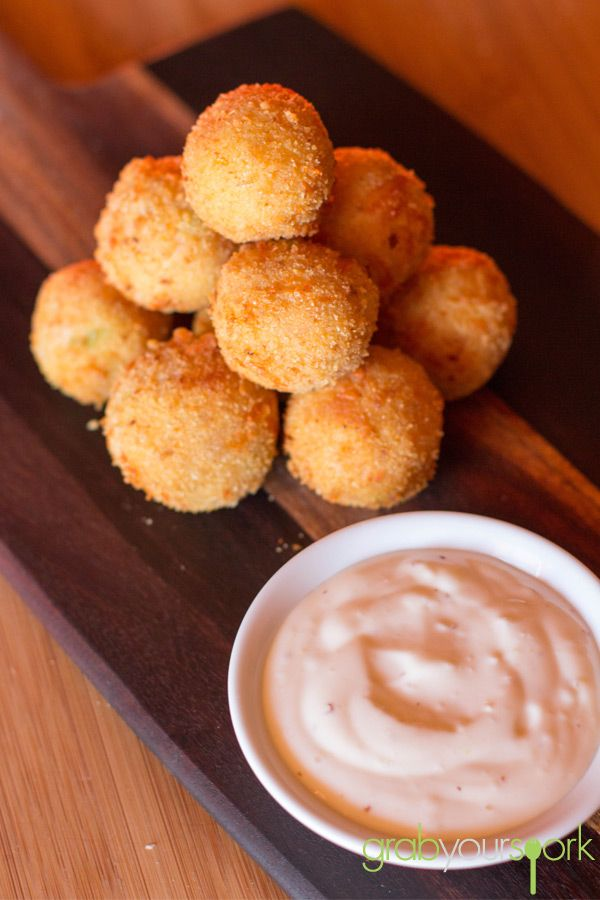Ham and Cheese Croquettes | Snacks | Recipes | Grab Your Spork