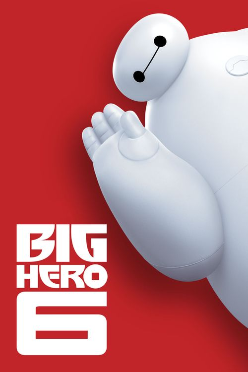 Big Hero 6 - movie poster