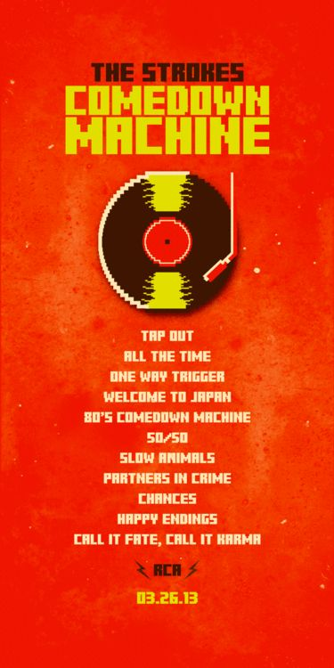 comedown machine lyrics