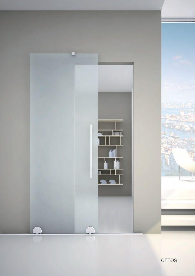 27 best images about porte interne e divisori in vetro on - Porta in vetro scorrevole ...