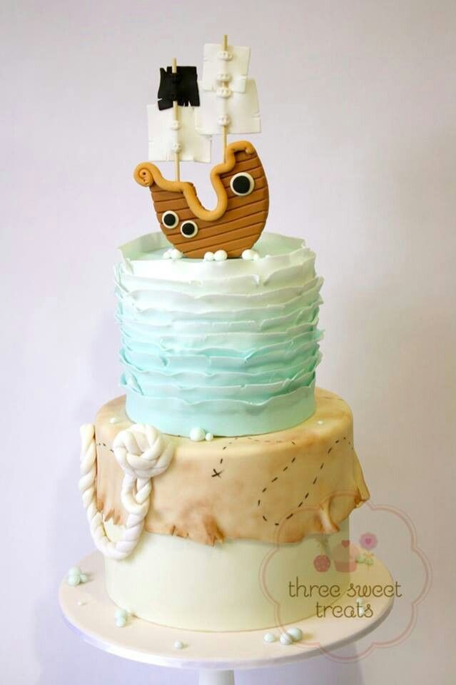 #Pirate theme - For all your cake decorating supplies, please visit craftcompany.co.uk