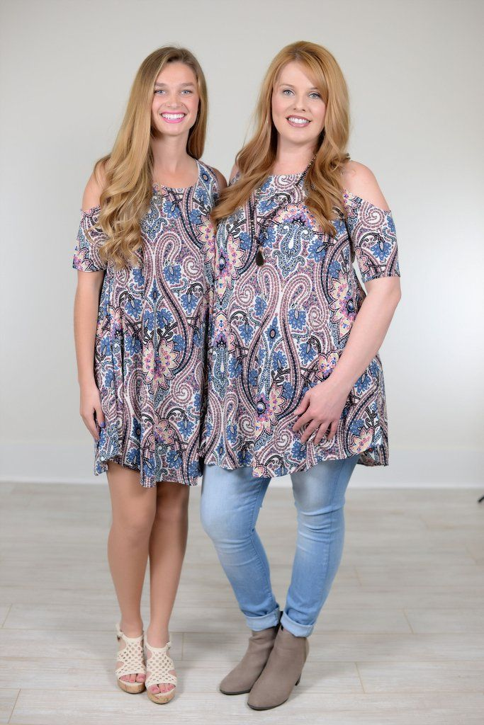 Miss Independent Multi Color/Print Open Shoulder Dress - D333MU