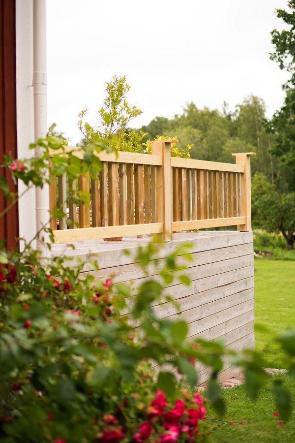 Bygga staket altan