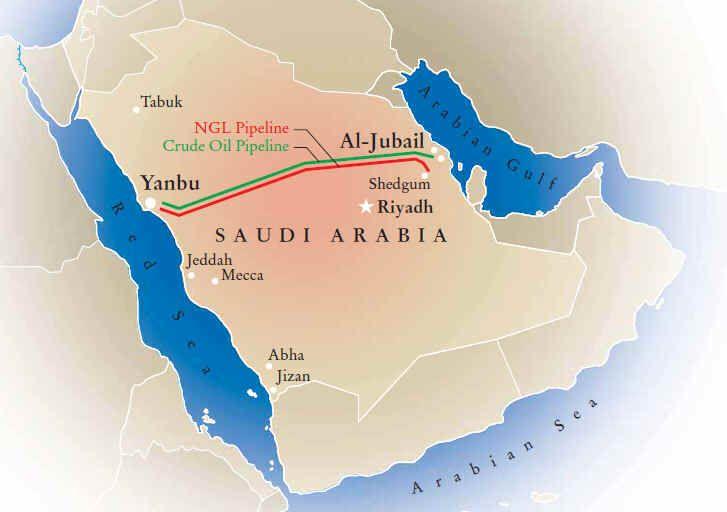 Petrolio, Aramco: si potenziano le linee verso il Mar Rosso. - Materie Prime - Commoditiestrading