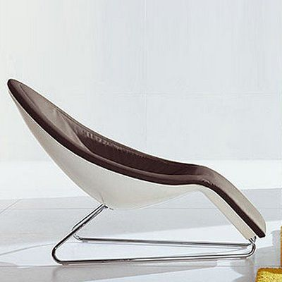 Bonaldo Spoon Modern Chaise Lounge Chair by Mario Mazzer | Stardust Modern Design : modern chaise chairs - Sectionals, Sofas & Couches
