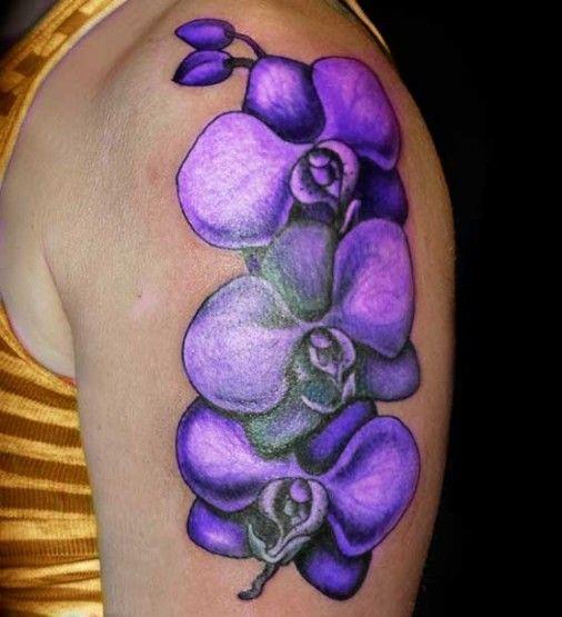 Best 25 Lavender Tattoo Ideas On Pinterest: Best 25+ Purple Flower Tattoos Ideas On Pinterest