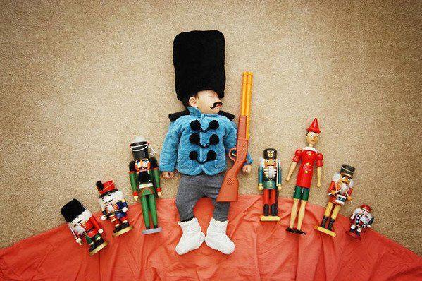 foto criativa de bebê - 9