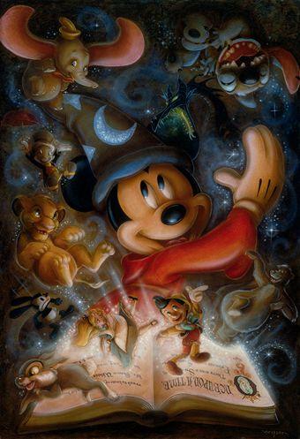 Mickey Mouse y las viejas y bonitas historias de Disney