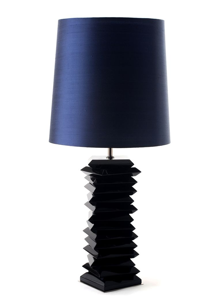 Tribeca Table Lamp by Boca do Lobo | With its geometric form and classic size, Tribeca is the perfect addition to any modern décor, easily converted from a table lamp to a bedside lamp | Discover more about Soho Collection: www.bocadolobo.com