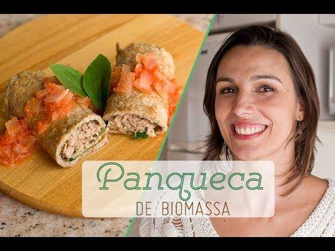 PANQUECA de biomassa: receita leve sem farinha e leite + com recheio de atum - YouTube