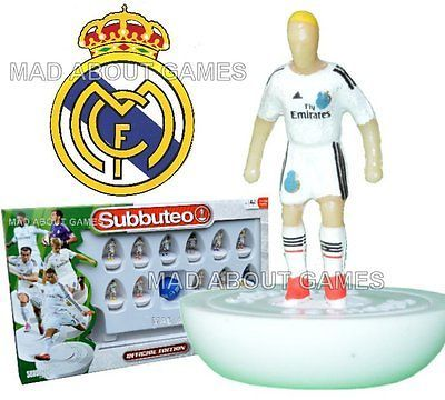 Official real #madrid fc home kit #subbuteo team #football soccer game paul lamon,  View more on the LINK: 	http://www.zeppy.io/product/gb/2/191536922188/