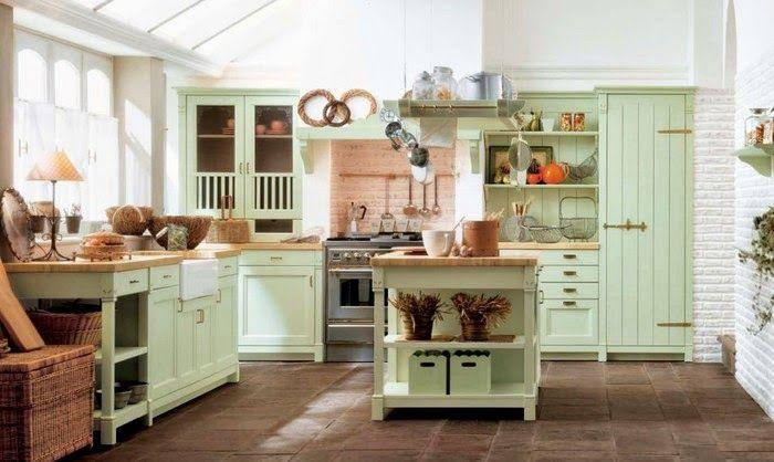 Casinha colorida: Um pouco do estilo Cottage