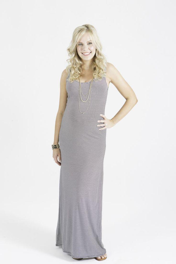 Maddison Stripe Tank Dress
