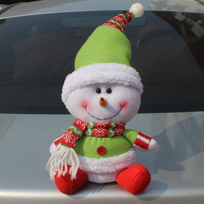 New Arrival Sweet Snowman Shape Doll For Christmas (AS THE PICTURE) China Wholesale - Sammydress.com
