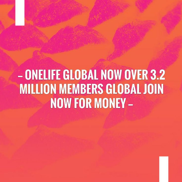 Give this a read 👉 OneLife Global Now Over 3.2 Million Members Global Join Now For Money https://onelife4u2.com/onelife-global-now-over-3-2-million-members-global-join-now-for-money/?utm_campaign=crowdfire&utm_content=crowdfire&utm_medium=social&utm_source=pinterest
