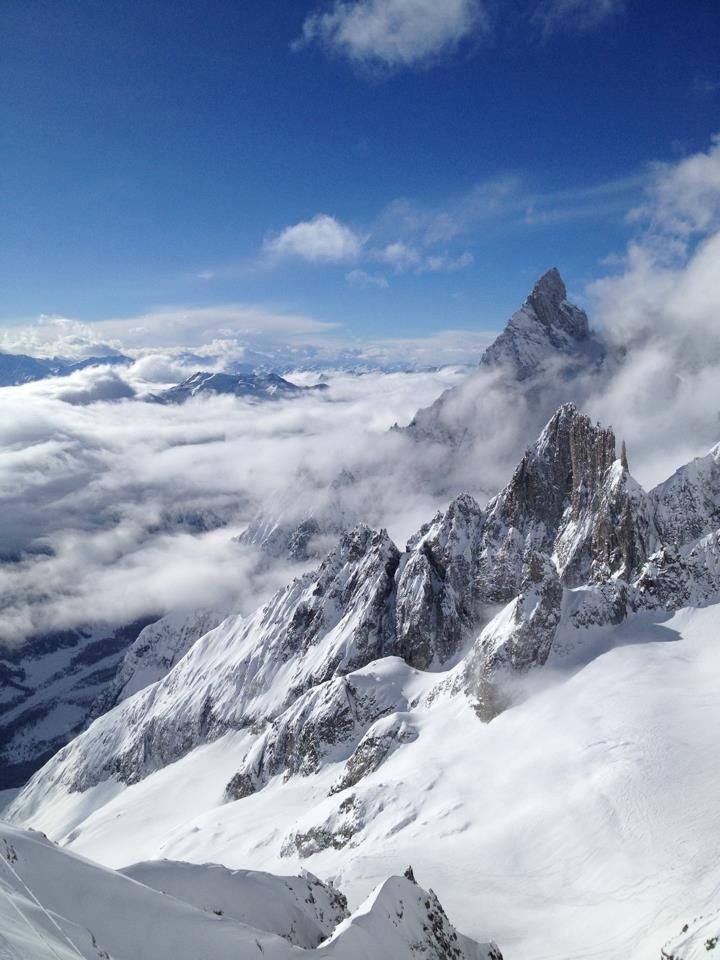 Western Italian Alps, Monte Bianco, Courmayeur, region of Valle D'aosta , Italy