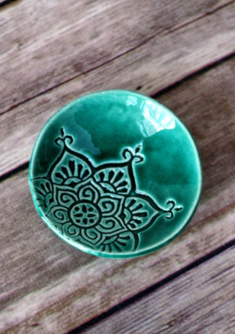 Handmade Ceramic Dish | FettleAndFire on Etsy