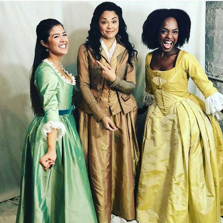 Chicago Schuyler Sisters - Ari Afsar, Karen Olivo, and Samantha Marie Ware