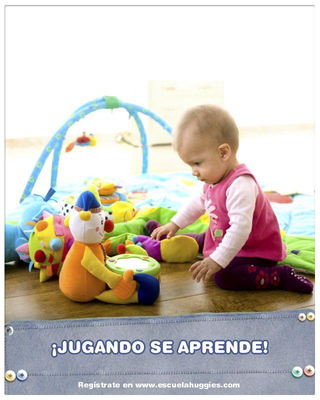 ¿Sabías que hay gimnasios para el bebé que sirven para estimularlo? http://www.escuelahuggies.com/Bebelogia/Gimnasio-para-bebes.aspx