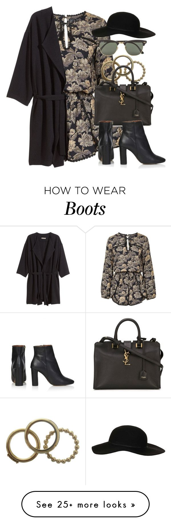 Style #9453 by vany-alvarado on Polyvore featuring Topshop, H&M, Dolce&Gabbana, Yves Saint Laurent and Ray-Ban