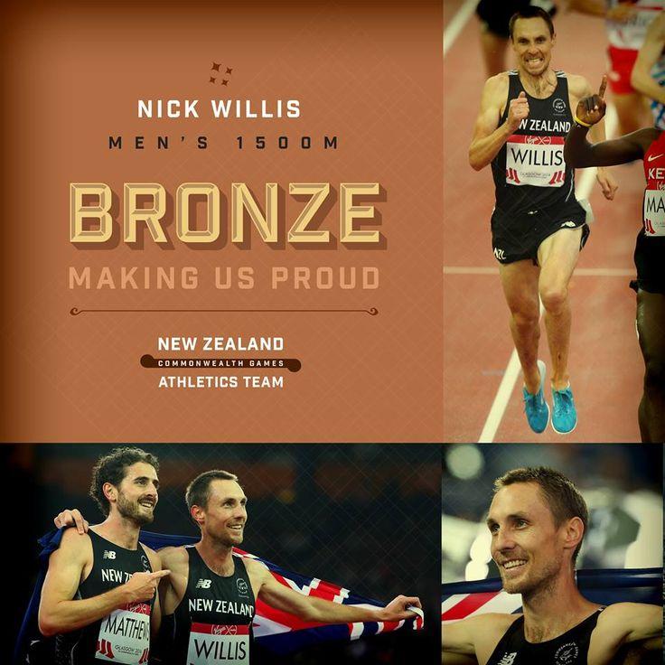 Bronze for Nick Willis in the men's 1500m!   #makingusproud