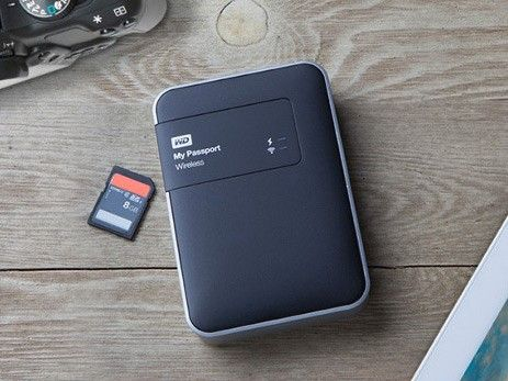 Western Digital launches My Passport Wireless hard drive with built-in SD card reader: Digital Photography Review