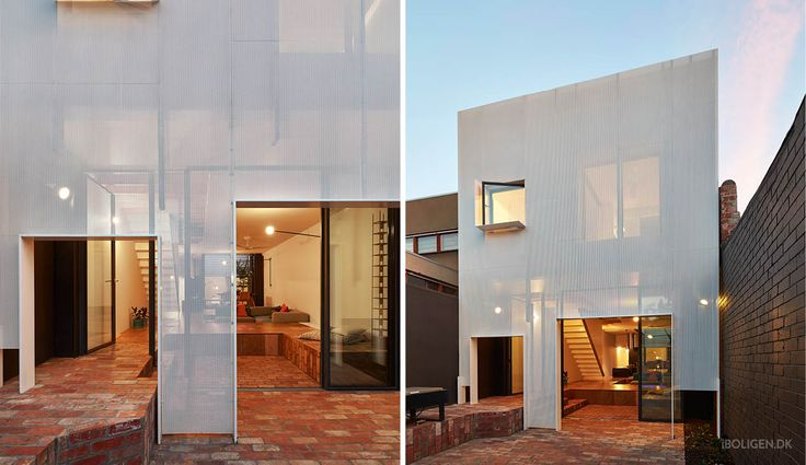 This is the metal house with three faces.
