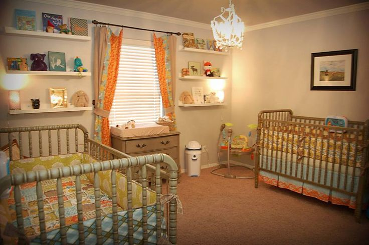 orange, green and blue | Project Nursery.