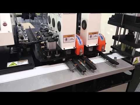 Multi Auto V-cut machine for making channel letter / www.lkstechnology.c...