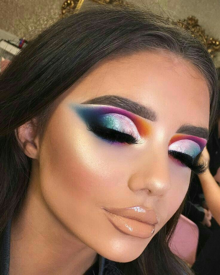 // biancacoetzee01 Colorful makeup, Colorful eye makeup