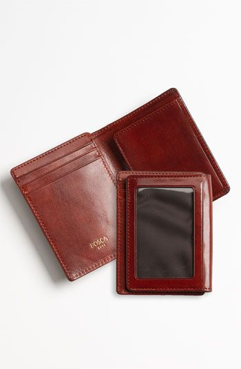 Free shipping and returns on Bosca 'Old Leather' Front Pocket ID Wallet at Nordstrom.com. Richly colored leather structures a slim front pocket wallet with a lined ID window.