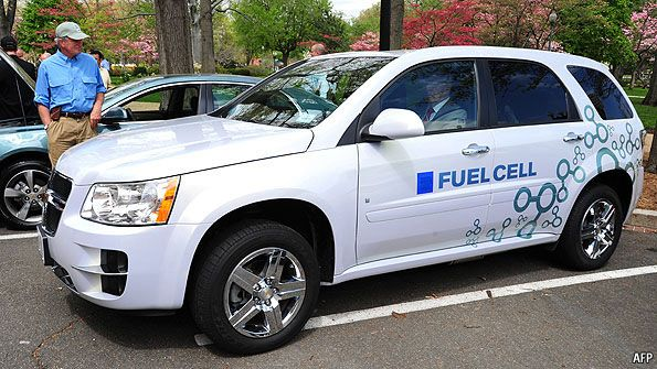 Hydrogen-powered cars: The future, finally   The Economist