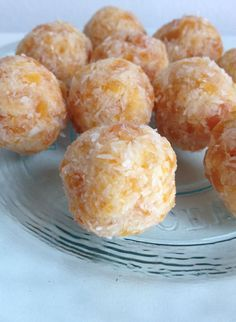 Kokos abrikozen balletjes