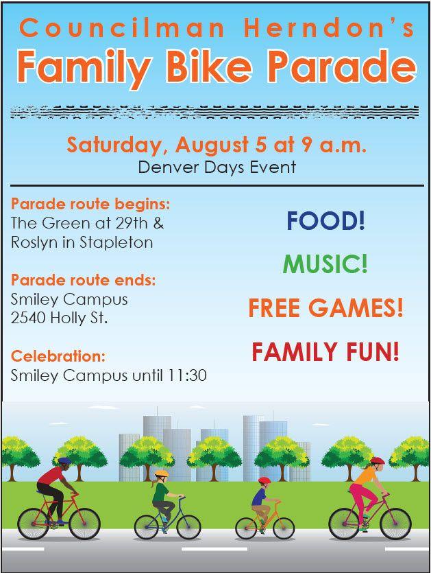Councilman Herndon's family bike parade. #family #fun