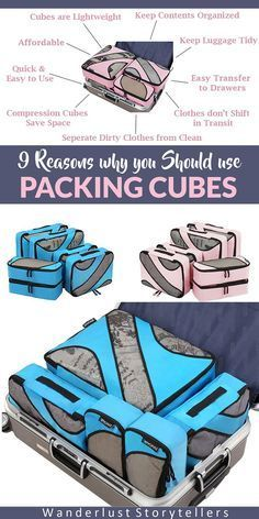 Click to read about why you should use travel packing cubes as your luggage organizer. >>>>>>>>>>>>>>>>>>>>>>>>>>> Travel Storage Bags | Best Packing Cube | Clothes Pouch | How to Pack | Packing TIps | Carry On Packing Cubes | Packing Cubes Backpack | How to use Packing Cubes | Packing Cubes Tips | Compression Packing Cubes | Packing for Travel