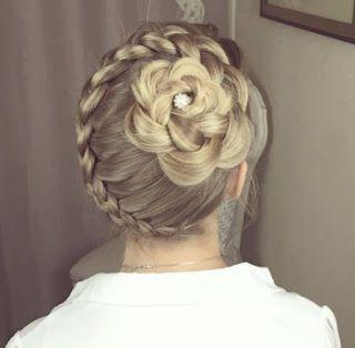 Peinados recogidos y semi sueltos con trenzas | Belleza