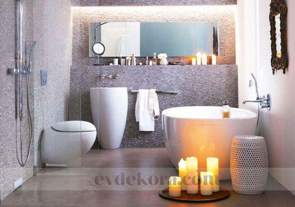 Küçük Banyolar İçin Büyük Fikirler evdekora.com