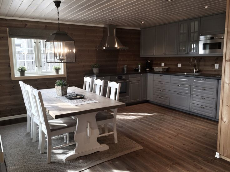 Kitchen on a cabin ! Picture by @villatverrteigen