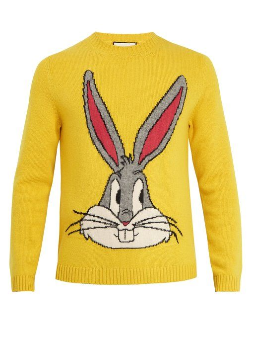 d05770e0eec GUCCI Bugs Bunny wool sweater.  gucci  cloth