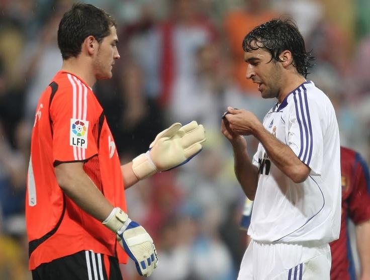 Raul & Iker Casillas - Real Madrid