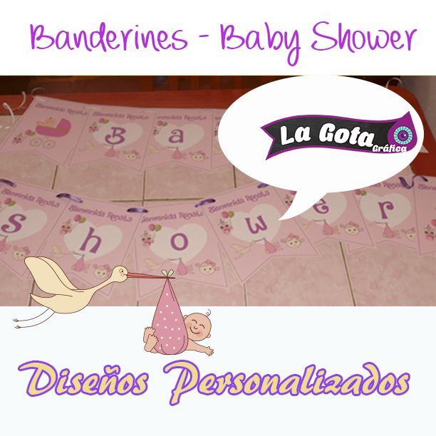 Banderin Baby Shower
