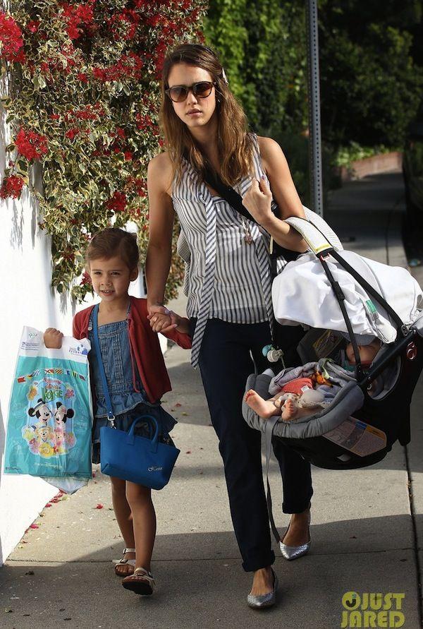 Jessica Alba & her daughter, Honor