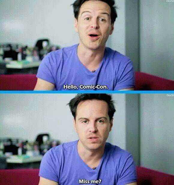 I loved this! I expected a really sweet message from Andrew Scott but...