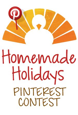 Homemade Holidays - Pin a recipe a day from November 8 through November 21st and you could be 1 of 10 winners who receive a year's worth of free sugar!