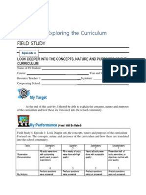 Fs 4 Exploring The Curriculum Full Episode Lesson Plans