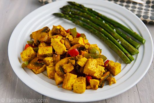 Scrambled Tofu, totally vegan
