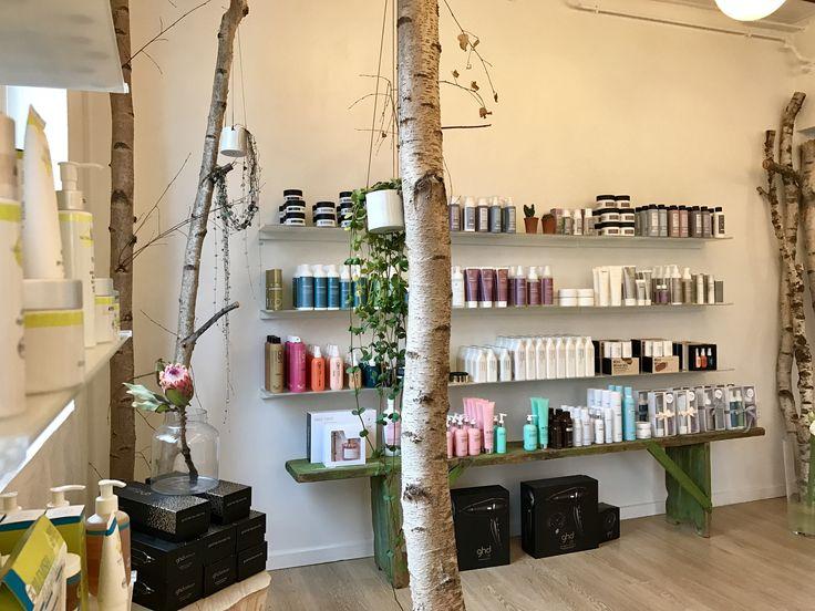 Frisør indretning  Produktet godkendt til grøn salon