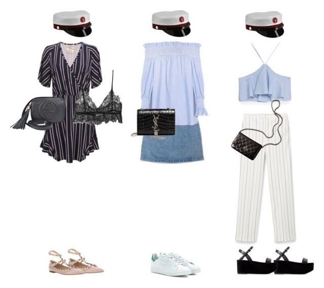 """""""Student 2016"""" by fiejust on Polyvore featuring Elfa, Levi's, MANGO, Zara, Chanel, adidas, Gucci, Yves Saint Laurent and Valentino"""
