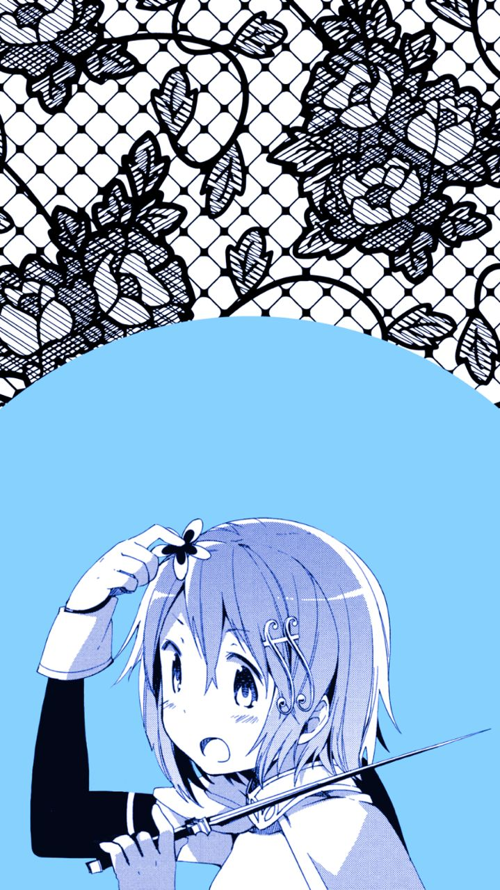 Tumblr iphone wallpaper anime - Stevenisthatbitch Madoka Iphone Wallpapers My Edits Of Existing Content